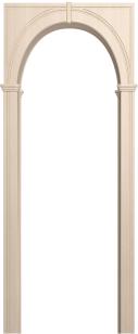 Палермо белёный дуб (арка универсальная ПВХ)