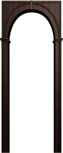 Палермо венге (арка универсальная ПВХ)
