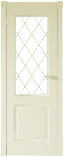 Финская дверь ПО цвет ваниль