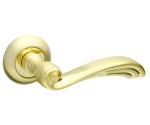 Ручка дверная  OPERA RM  Матовое золото/золото (без запирания)