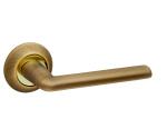 Ручка дверная  TEMPO RM Бронза/золото (без запирания)