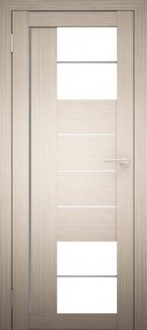 Межкомнатная дверь Экошпон Амати 21 Дуб белёный