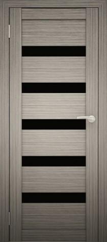 Межкомнатная дверь Экошпон Амати 3(ч) Дуб дымчатый