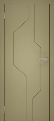 Межкомнатная дверь эмалированная Эмаль 15 Капучино