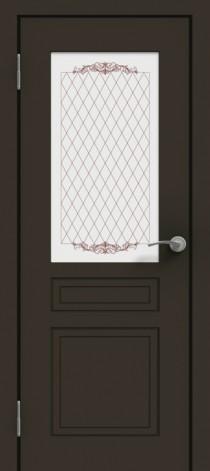 Межкомнатная дверь эмалированная Эмаль ПО-1 Графит