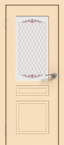 Межкомнатная дверь эмалированная Эмаль ПО-1 Слоновая кость
