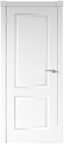 Межкомнатная дверь Финская дверь ПГ цвет белый