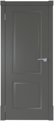 Межкомнатная дверь Финская дверь ПГ цвет графит