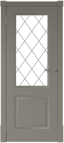 Межкомнатная дверь Финская дверь ПО цвет капучино