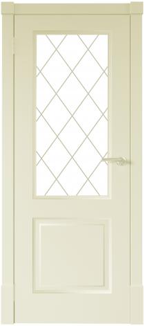 Межкомнатная дверь Финская дверь ПО цвет ваниль