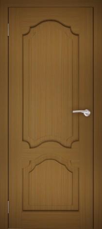 Межкомнатная дверь натуральный шпон ШГ-1 Дуб тёмный