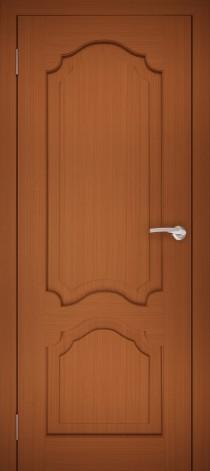 Межкомнатная дверь натуральный шпон ШГ-1 Орех тёмный