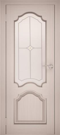 Межкомнатная дверь натуральный шпон ШО-1 Дуб белёный