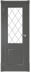 Финская дверь ПО цвет графит